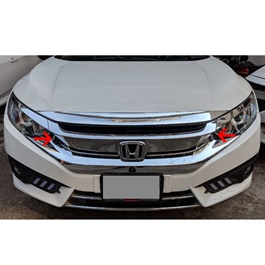 Honda Civic Full Chrome Grille - Model 2016-2020-SehgalMotors.Pk