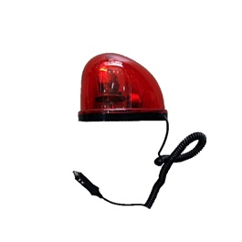 Revolving Warning Light Single - Red-SehgalMotors.Pk