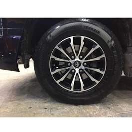 Toyota Prado OEM Alloy Rim 17 Inches (Set of 4) - Model 2009-2019 | TX | TXL |  Oem Style | Original Style Alloy Rim | Strong A+ Quality | Best Quality Prado Alloy Rims-SehgalMotors.Pk