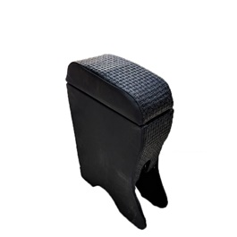 Suzuki Wagon R Custom Fit Arm Rest Crocodile Style Black- Model 2014-2019-SehgalMotors.Pk