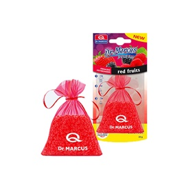 Dr Marcus Hanging Bag Fresh Air Freshener Car Perfume Fragrance- Red Fruit-SehgalMotors.Pk