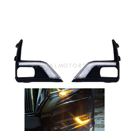 Toyota Prado Fog Lamps / Fog Lights DRL Cover - 2009-2019-SehgalMotors.Pk