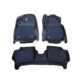 Honda City 8D Custom Floor Mat Black - 2009-2020-SehgalMotors.Pk