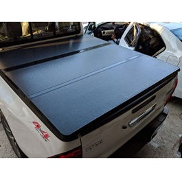 Toyota Hilux Revo Tri Folding Hard Lid - Model 2016-2020-SehgalMotors.Pk