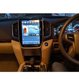 Toyota Land Cruiser AX LCD multimedia IPS Display System - Model 2018-2019-SehgalMotors.Pk