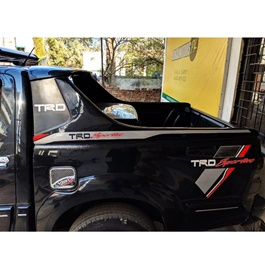 Toyota Hilux Vigo Champ TRD Roll Bar Black - Model-2012-2016