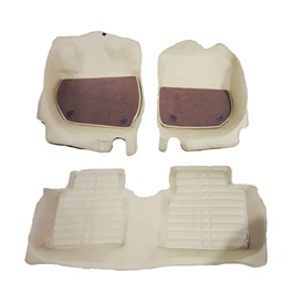 Honda City 8D Custom Floor Mat Beige - 2009-2020-SehgalMotors.Pk
