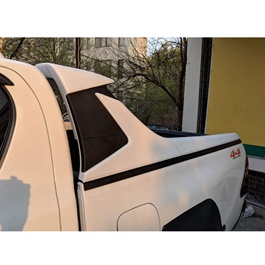 Toyota Hilux Revo TRD Roll Bar Glossy White - Model-2016-2019