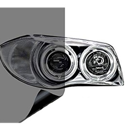 3M Transparent Smoke Style Tape For Front Headlights / Head Lamps To Counter Fog