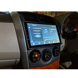 Toyota Corolla Android LCD IPS Navigation System - Model 2008-2014-SehgalMotors.Pk
