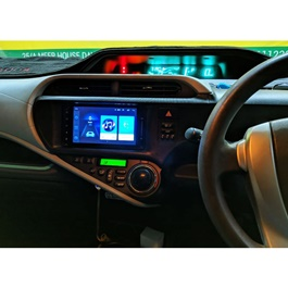 Toyota Aqua Android LCD Multimedia Navigation System - Model 2012-2017-SehgalMotors.Pk