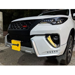 Toyota Fortuner Lx Mode Body Kit / Bodykit Black - Model 2016-2019-SehgalMotors.Pk