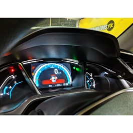Honda Civic Ambient Integrated Meter Display - Model 2016-2020-SehgalMotors.Pk