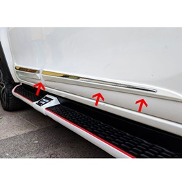 Toyota Hilux Revo Door Lower Chrome Moulding Big Version - Model 2016 - 2019-SehgalMotors.Pk