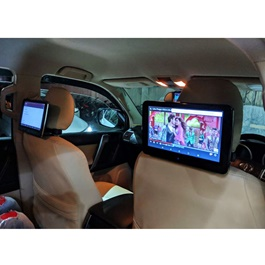 Universal Ultra Slim Headrest 10.1 inch Android Multimedia System - Pair-SehgalMotors.Pk