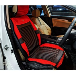 Japanese Leather Type Rexine Seat Covers Red and Black-SehgalMotors.Pk