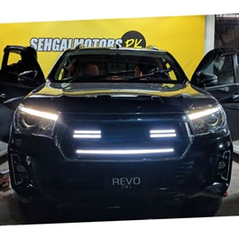 Toyota Hilux Rocco LED Grille With Toyota Logo - Model 2016-2019-SehgalMotors.Pk