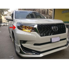 Toyota Prado Full Led Headlight Bugatti Style Right Side - Model 2009-2018-SehgalMotors.Pk