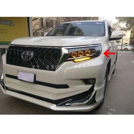Toyota Prado Full Led Headlight Bugatti Style Left Side - Model 2009-2018-SehgalMotors.Pk