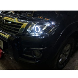 Toyota Hilux Vigo Champ Headlights / Head Lamps TRD Style Ty1189 - Model - 2012-2016-SehgalMotors.Pk