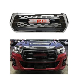 Toyota Hilux Revo Rocco Style TRD Front Grille - Model 2016-2020-SehgalMotors.Pk