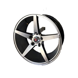 Honda Vezel Alloy Rims Matte Chrome Style 17 Inches - Model 2013-2018	-SehgalMotors.Pk