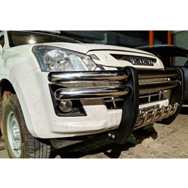 Isuzu D-Max Hilander Stainless Steel Front Bull Bar - Model 2018-2019-SehgalMotors.Pk