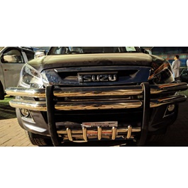 Isuzu D-Max Stainless Steel Front Bull Bar- Model 2018-2019-SehgalMotors.Pk