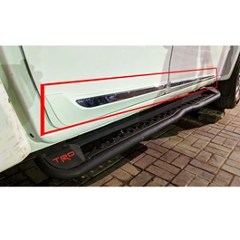 Isuzu D-Max / DMax / D Max Hilander Door Lower Chrome Moulding Big Version - Model 2018-2020-SehgalMotors.Pk