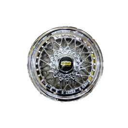 BBS Chrome Wheel Cover Diamond Style - 13 inches-SehgalMotors.Pk