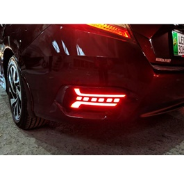 Honda Civic New Generation Rear Bumper Brake Lamp - Model 2016-2019-SehgalMotors.Pk