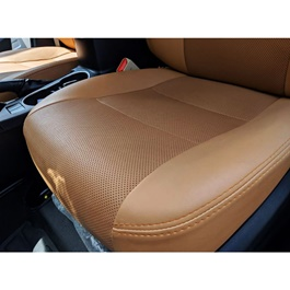 Toyota Corolla Special Leather Type Rexine Coffee Style - Model 2017-2020