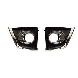 Toyota Corolla DLAA Full Chrome Fog Lamps / Fog Lights Cover - Model 2014-2017-SehgalMotors.Pk