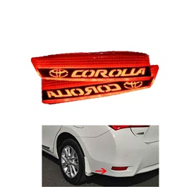 Toyota Corolla Neon Back Bumper Break Light with Flasher - Model 2017-2019-SehgalMotors.Pk
