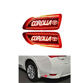 Toyota Corolla Neon Back Bumper Brake Light with Flasher - Model 2008-2012-SehgalMotors.Pk