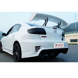 Car GT Wing Spoiler with Metal Base | Trunk Spoiler | Baggage Spoiler Decorative Cover-SehgalMotors.Pk