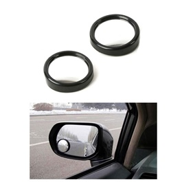 3D Blind Spot Convex Mirror Pair |  Wide Angle Round Convex Mirror Car Vehicle Side Blindspot Blind Spot Mirror Wide Rear View Mirror Small Round Mirror