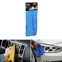 Maximus Microfiber Cloth 30 X 40 cm - Multi  | Auto Car Natural Drying Clean Cloth | Cleaning Cloth | Car Cleaning Towels Drying Washing Cloth | Car Care Cloth Detailing Car Microfibre Cloth