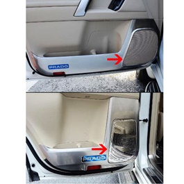Toyota Prado Door Speaker Chrome 4PC - Model 2009-2021-SehgalMotors.Pk