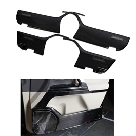 Toyota Land Cruiser Anti Kick Door Protection Cover Black - Model 2015-2021-SehgalMotors.Pk