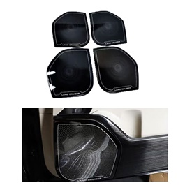 Toyota Land Cruiser Door Speaker Black 4PC - Model 2015-2018-SehgalMotors.Pk