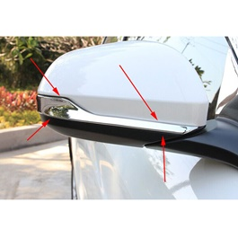 Honda Vezel Side Mirror Chrome Trims - Model 2013-2018-SehgalMotors.Pk