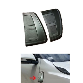 Toyota Fortuner Side Fender Black - Model 2016-2019-SehgalMotors.Pk