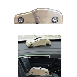 Car Style Leather Car Tissue Box Beige | Tissue Holder | Modern Paper Case Box | Napkin Container Tray | Towel Desktop-SehgalMotors.Pk