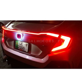 Honda Civic Mugen LED Logo Back - Model 2018-2019-SehgalMotors.Pk