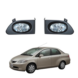 Honda City DLAA Fog Lamps / Fog Lights - Model 2003-2006 - HD055-SehgalMotors.Pk