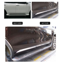Toyota Fortuner Full Chrome Door Moulding - Model 2016-2020-SehgalMotors.Pk