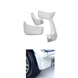 Suzuki Wagon R Mud Flaps White - Model 2014-2018 | Car Mudguard | Fender Mud Flaps | Splash Guards-SehgalMotors.Pk