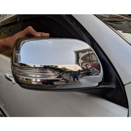 Toyota Prado Side Mirror Chrome Covers - Model 2009-2018-SehgalMotors.Pk