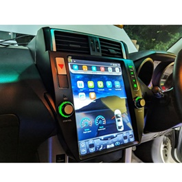 Toyota Prado Tesla Style IPS Display LCD Multimdia System Android 11 Inches  - Model 2009-2013